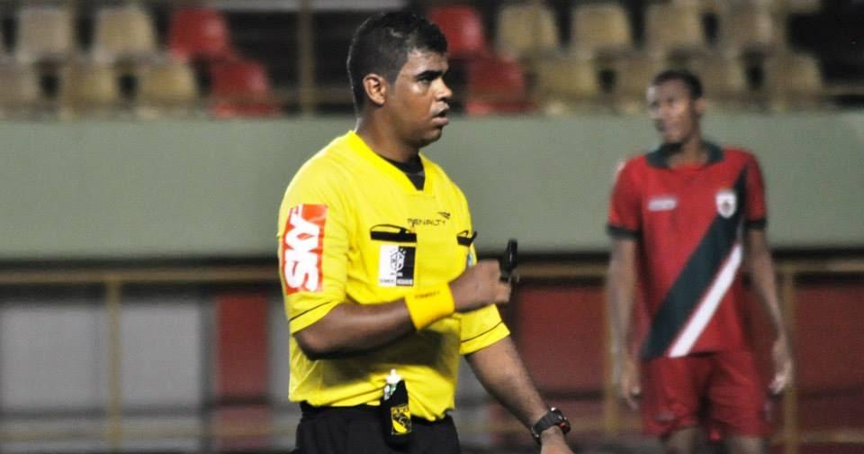 Fledes Santos será o árbitro principal (Foto: Divulgação)